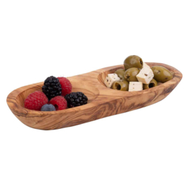 Bowls and Dishes - borrelduo - recht - pure olive wood