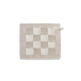 Knit Factory - Pannenlap - Block - ecru/linnen