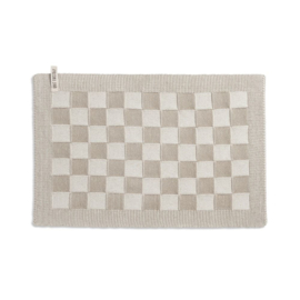 Knit Factory - Placemat - block - ecru/linnen