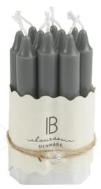 IB laursen mini kaarsjes dark grey