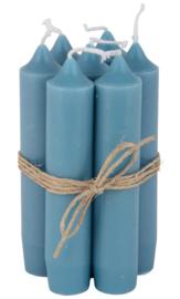 IB laursen Diner kaarsjes - blue green