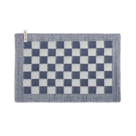 Knit Factory - Placemat - block - ecru/jeans