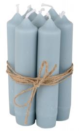 IB laursen Diner kaarsjes - light blue