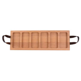 Bowls and Dishes - Streetfoodtray - 59cm - 6vaks - beuken