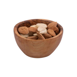 Bowls and Dishes - olijfhouten schaal - 8cm - pure olive wood