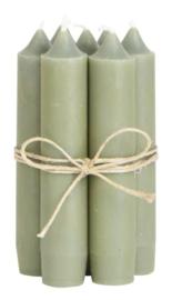 IB laursen Diner kaarsjes - olive green