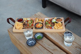Bowls and Dishes - Streetfoodtray - 49cm - 5vaks - beuken