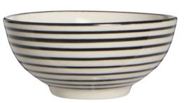 IB Laursen kommetje mini - Casablanca stripes horizontaal - zwart
