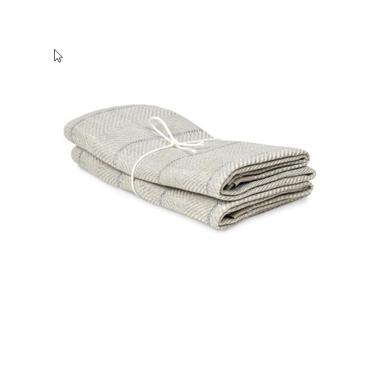 Axlings - towel - Marulk - natural -lightgrey-set