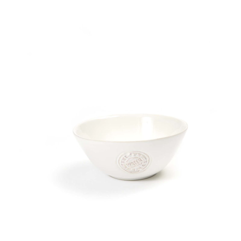 Bowls and Dishes - WateR schaal  15cm wit