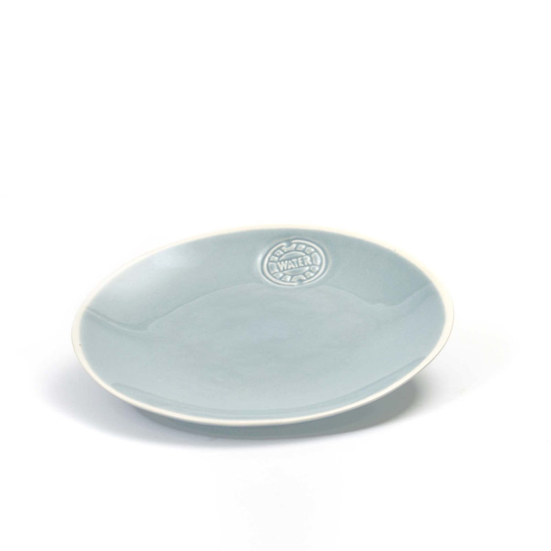 Bowls and Dishes - WateR ontbijtbord  21cm  ijsblauw