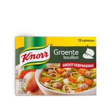 Knorr Groentebouillon tabletten 8x