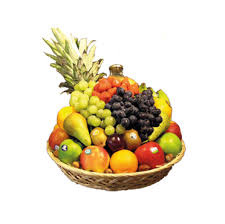 verse fruitmand groot