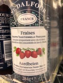 100% aardbeien Jam zonder toevoegingen pot