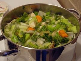 Groentesoep Ambachtelijk geproduceerd door restaurant Maslow, 1000ml verpakking diepgevroren (vegan)