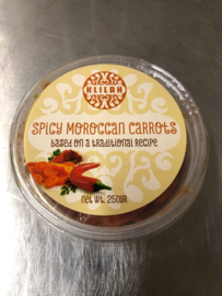 Spicey Moroccan carrots, Kosher 250gr