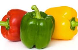 Paprika Rood/Groen/Geel mix per KG