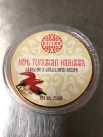Hot Tunasian Harissa Kosher 250gr