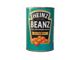 Heinz witte bonen in tomatensaus, 415gr blik