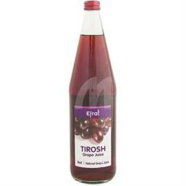 Tirosh Red Grapejuice, (KLP), Efrat, 1L