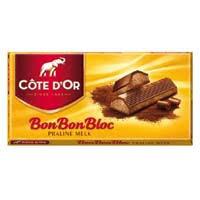 BON BON BLOC praline melk cote dór