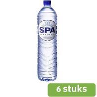 spa blauw 1,5lt  6pack(incl statiegeld)