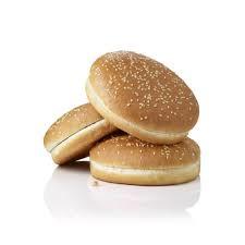 Hamburger Sesambollen 6 stuks, Vegan