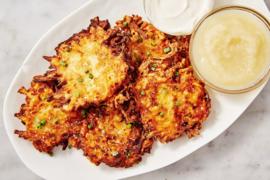 Latkes traditioneel geproduceerd door restaurant Maslow, 8 stuks per verpakking❄️