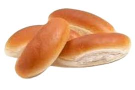 Hotdog broodjes 4 stuks