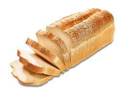 brood wit heel gesneden warme bakker
