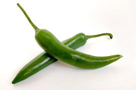 Peper groen per stuk