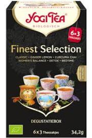 Yogi Tea finest selection 18 zakjes (6x3)