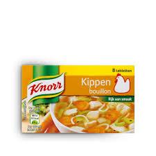 Knorr Kippenbouillon tabletten 8x
