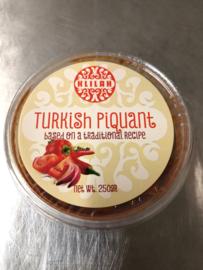 Turkish Piquant , Kosher 250gr