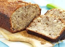 Bananen Cake half, ambachtelijk geproduceerd door Maslow diepgevroren