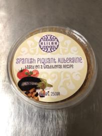 Spanish Piquant Aubergine, Kosher 250gr