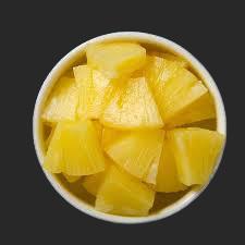 Ananas gesneden CA. 300gr bak