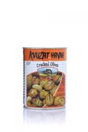 Cracked Olives spicy(KLP), Kvuzat Yavne, 540g