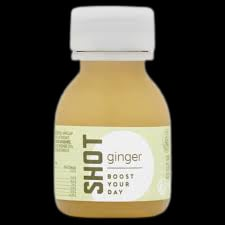 Gember SHOT cold pressed, 60ml per flesje (Fruityline)