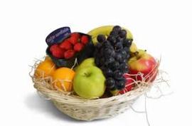 verse fruitmand klein
