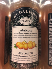 100% abrikozen Jam zonder toevoegingen pot