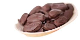 Chocolade Dadels groot, 250 gr (melk)