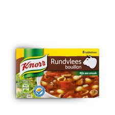 Knorr Runderbouillon tabletten 8x