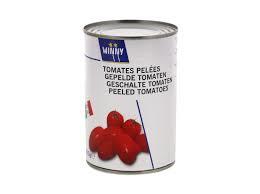 Blik gepelde tomaat 400gr