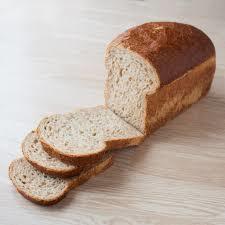brood bruin heel gesneden warme bakker