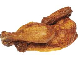 Gebraden Halve kip per stuk (100% Hollands, Halal)