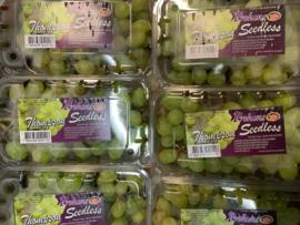 Pitloze druiven per 500gr, Klasse -I