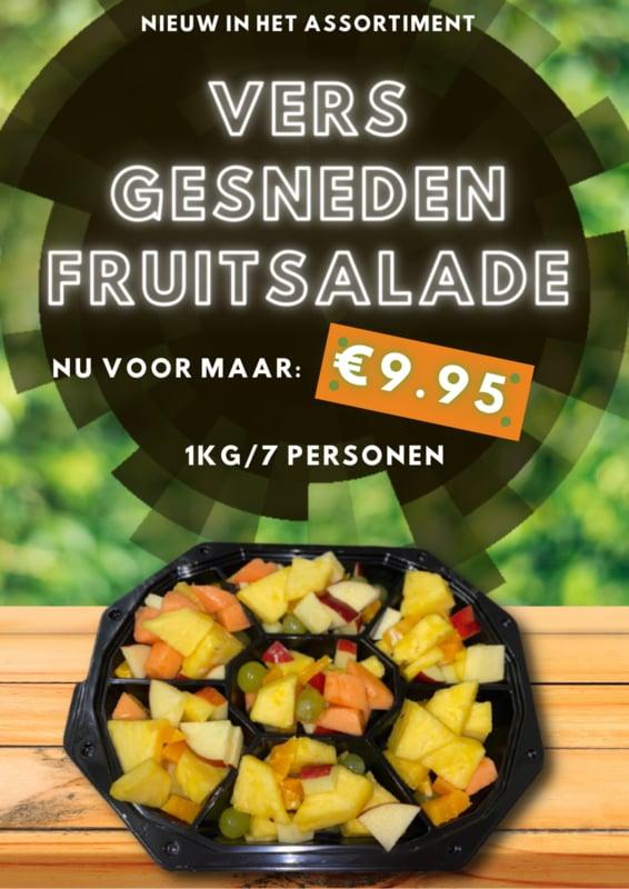 Fruitsalade 1KG/ 7 personen, Party schaal