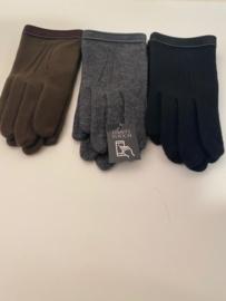 Fijne wollen handschoen