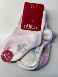 Effen meisjes sokken s' Oliver